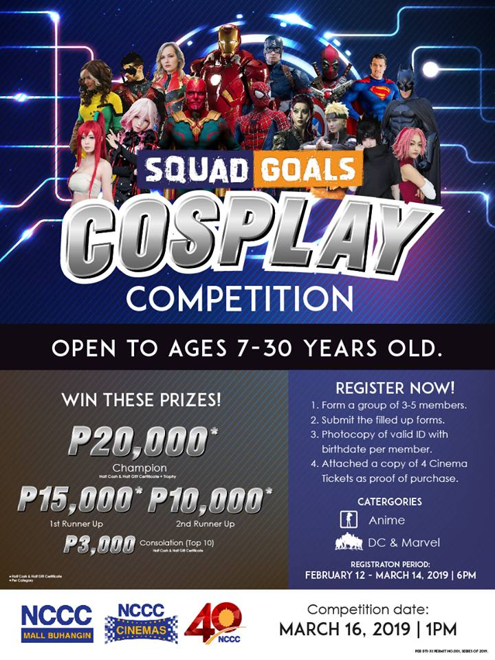 Squad Goals Cosplay Competition