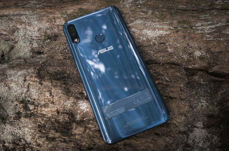 Zenfone Max Pro M2 back