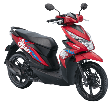 Honda New BeAT Red