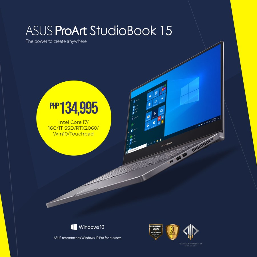 ASUS ProArt StudioBook 15 (H500)