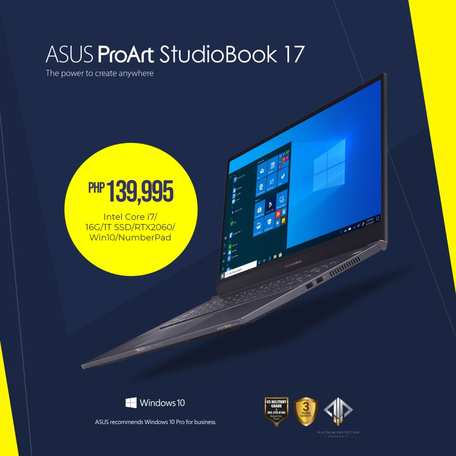 ASUS ProArt StudioBook 17 (H700)