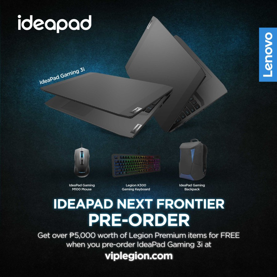 IdeaPad Gaming 3i order