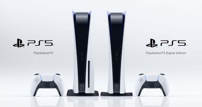 PlayStation 5 Standard and Digital Edition
