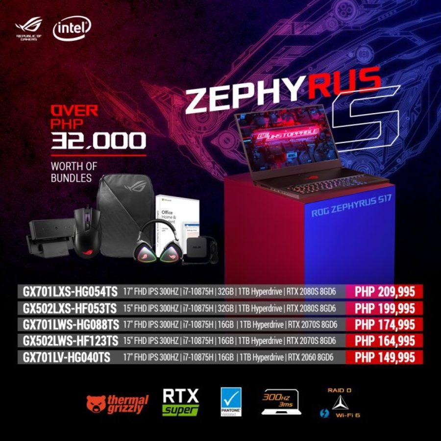 ROG Zephyrus S rev