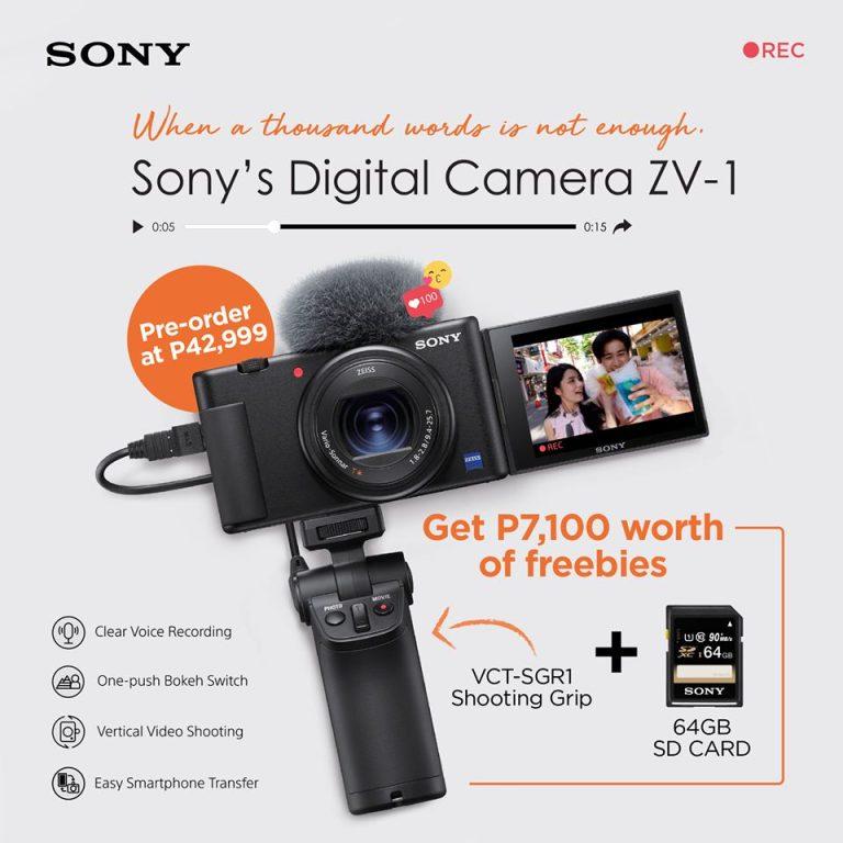 Sony Digital Camera ZV-1 pre-order