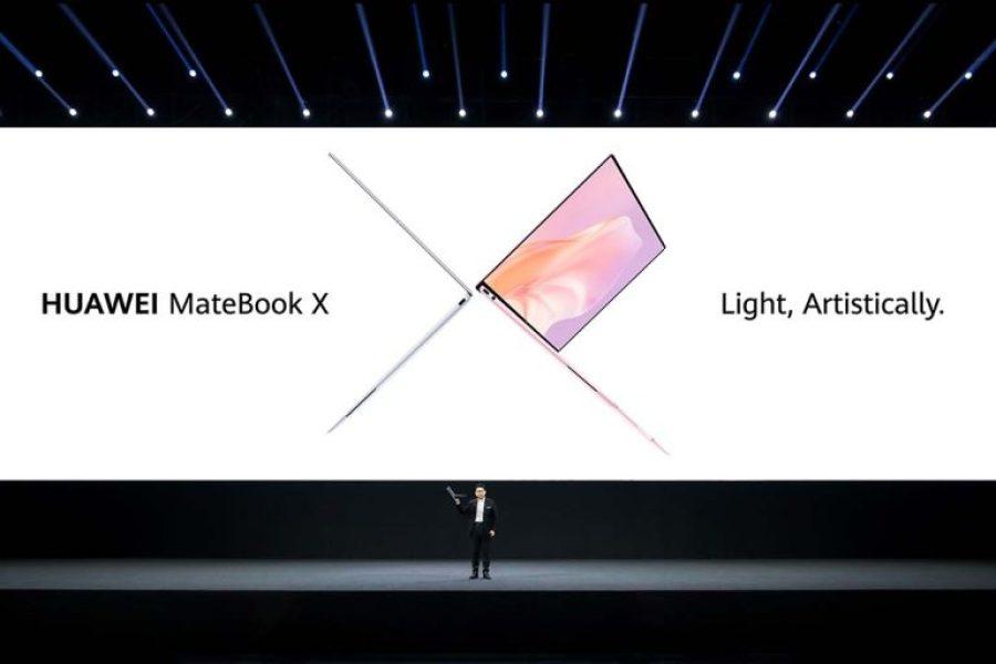 Huawei Seamless AI Life Product Launch - Huawei MateBook X