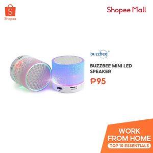 Buzzbee Mini LED Speaker