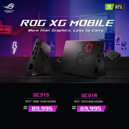 ROG XG Mobile price