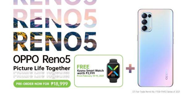 Reno5 4G pre-order