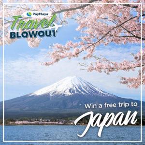 PayMaya Travel Blowout Japan