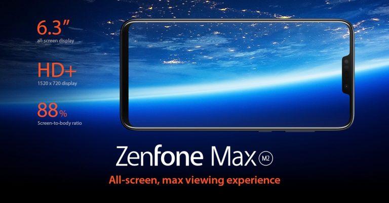 ZenFone Max M2 Display
