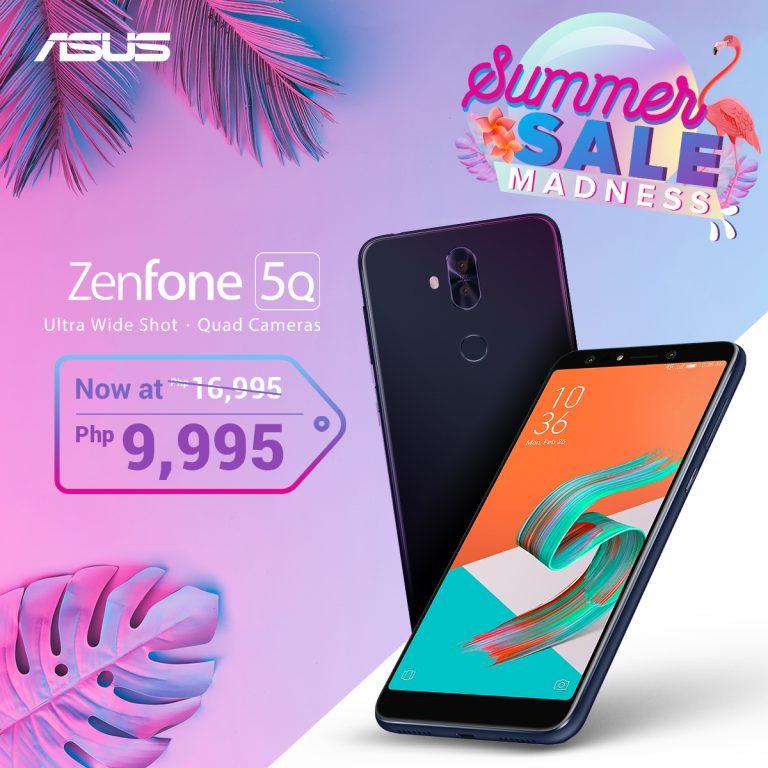 ZenFone Summer Madness Sale - ZenFone 5Q