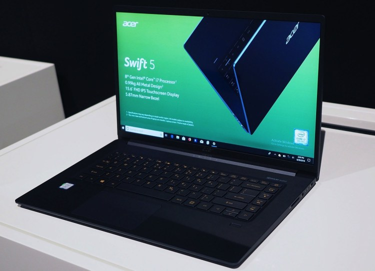 Acer Swift 5 15-inch