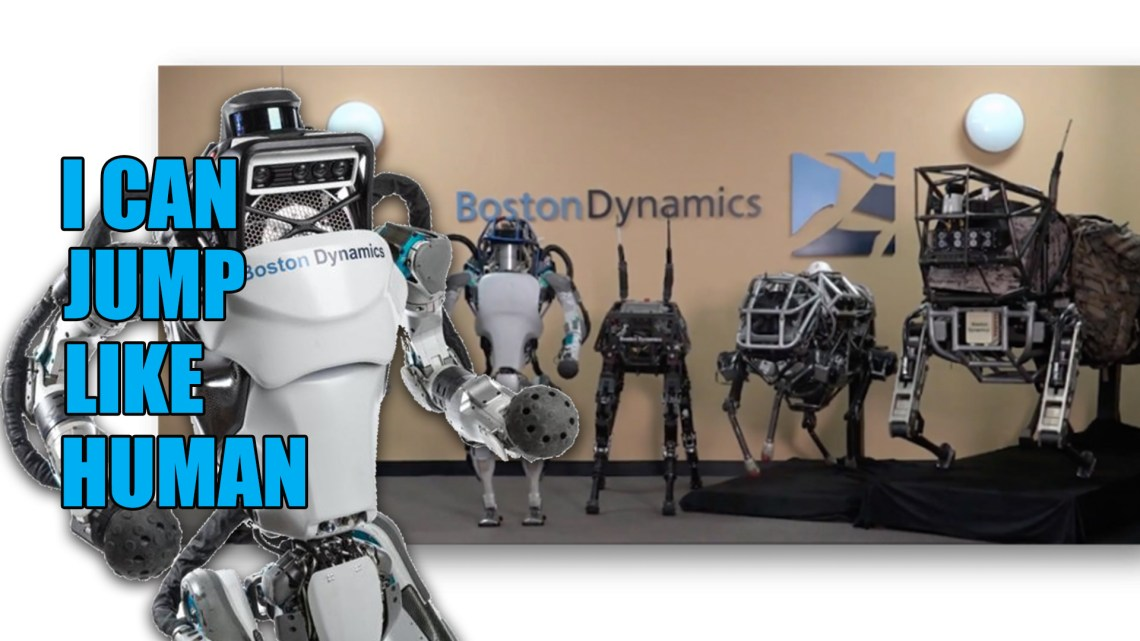 Boston Dynamics' Atlas Robot Getting More Human-Moving Realistic