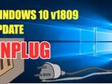 Microsoft Pause October 2018 update
