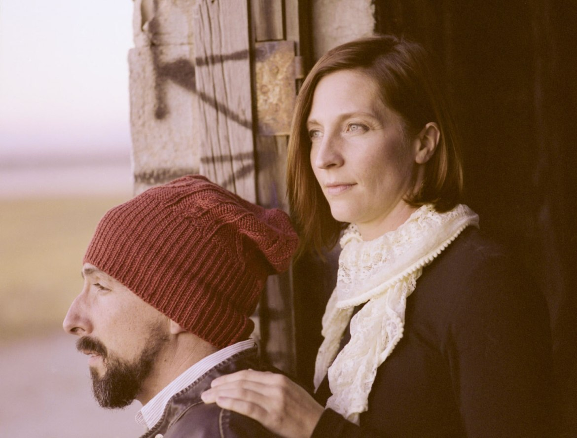 Film photograph of Anne and Aaron