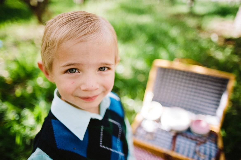 film portrait of child