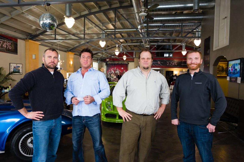 The sales staff of Prestman Auto