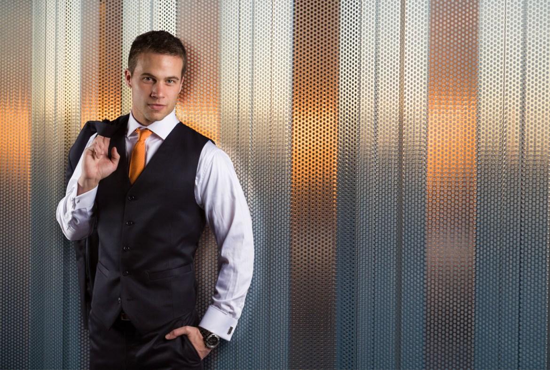 Men's Suit with a Vest