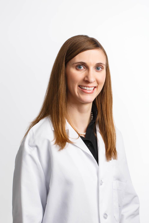 Scientist wearing a lab coat