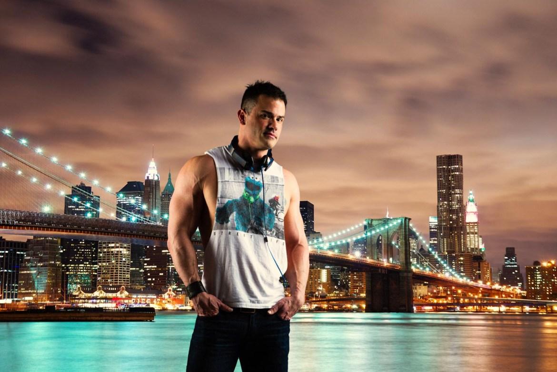 Robbie in New York City
