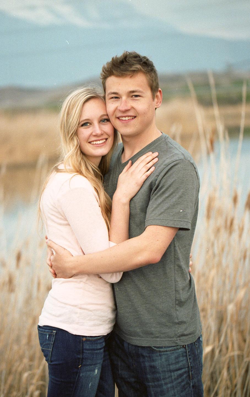 Husband and wife on Kodak film