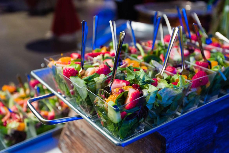 Strawberry and orange salad