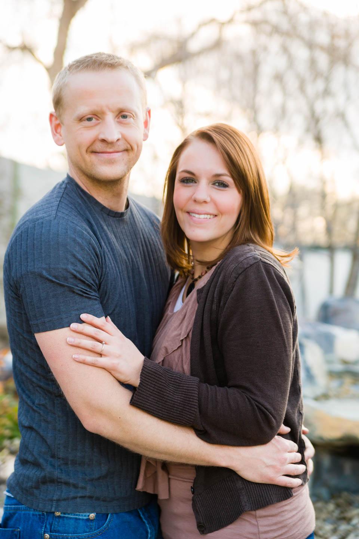 Greg and Blythe
