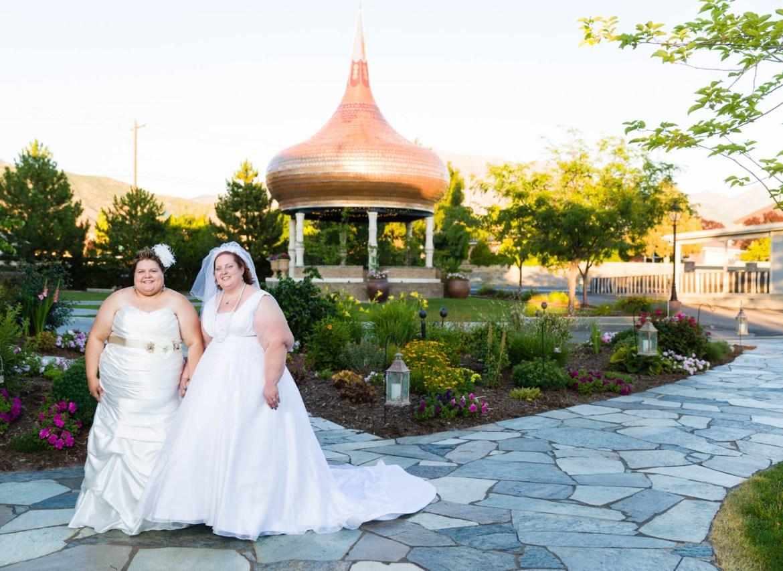 Jen and Celina wedding in Lindon, Utah