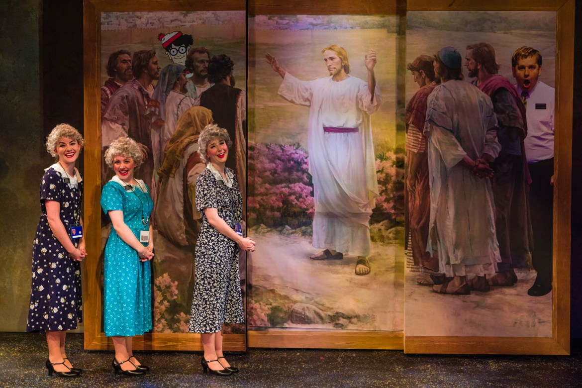 Take a tour of Temple Square with the Sister Missionaries