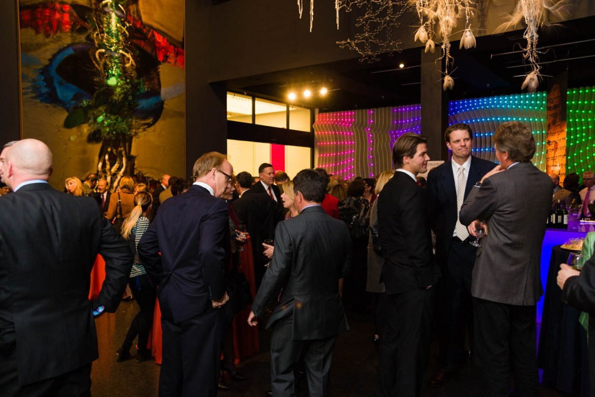 Social hour at The Leonardo with VIP guests