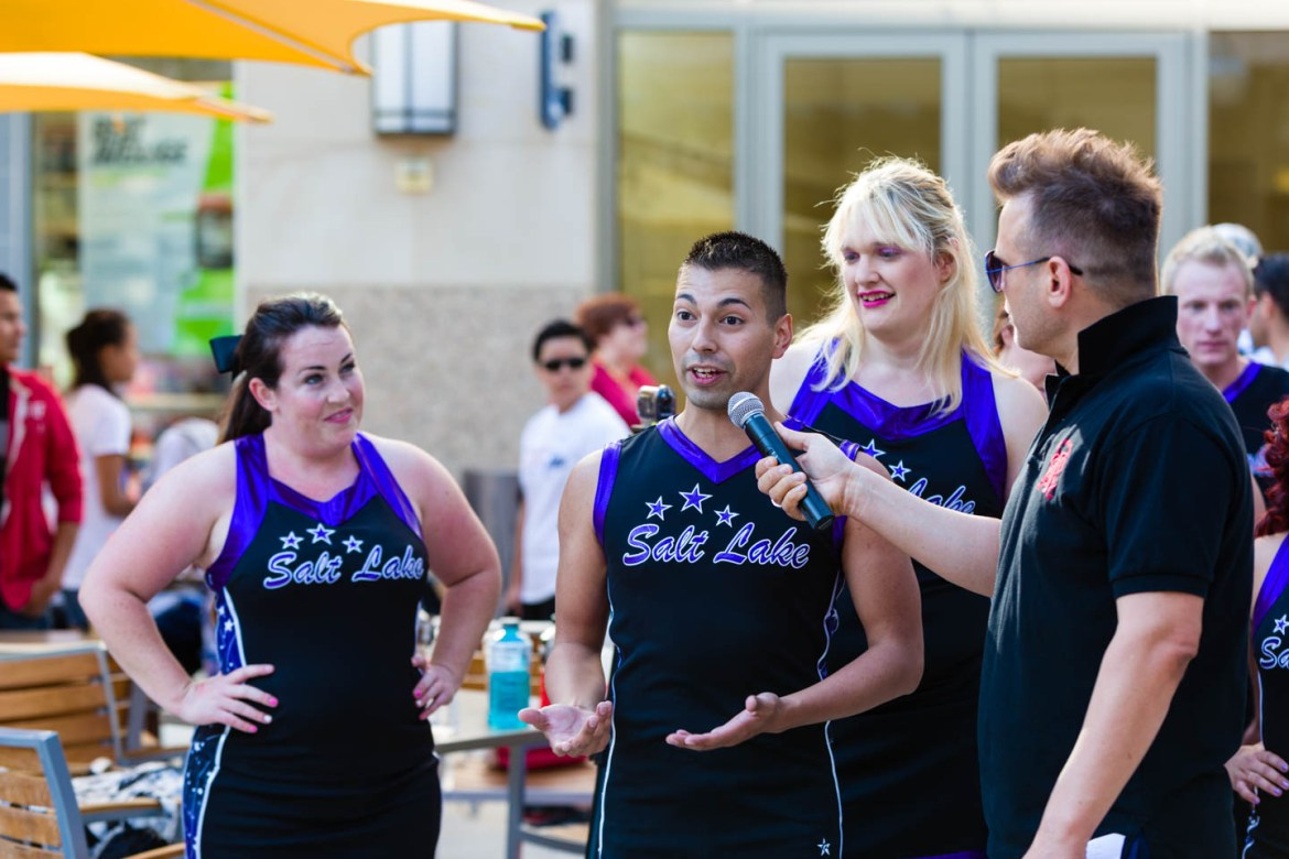 Channel 4 interviews Cheer Salt Lake