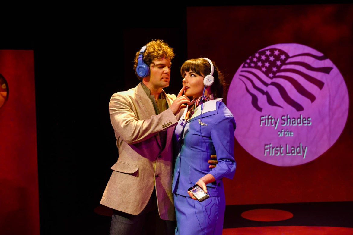 Mr Perfect and the flight attendant
