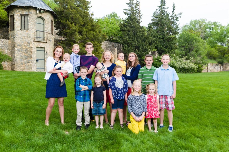 Portrait of all the grandkids