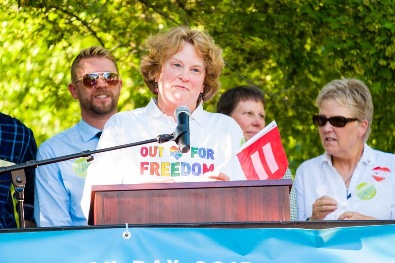 Representative of Utah's ACLU speaks on marriage equality