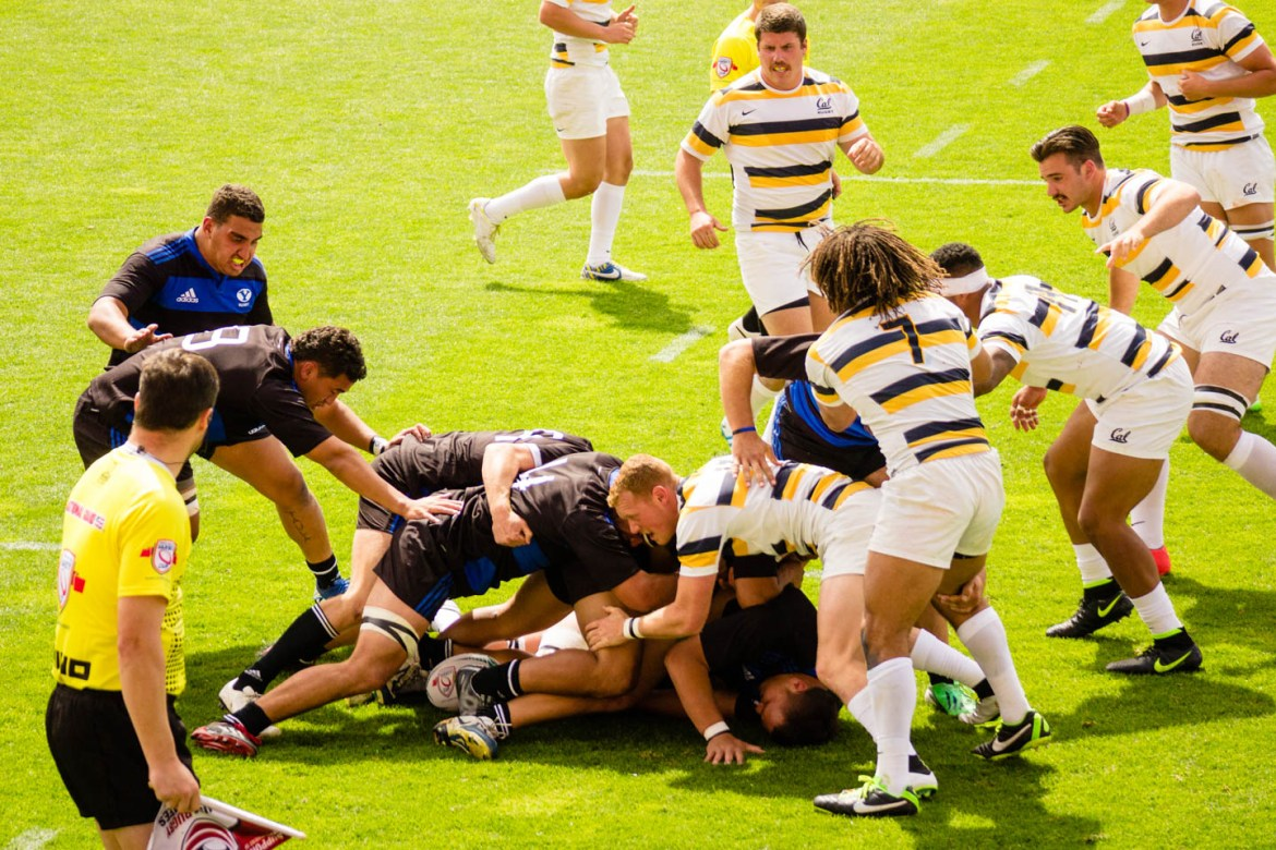 Rugby ruck