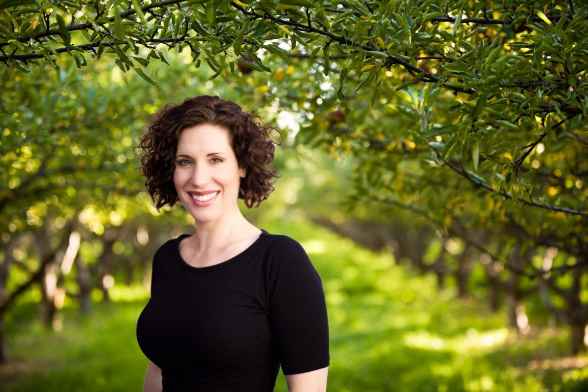Brenda added to an orchard portrait