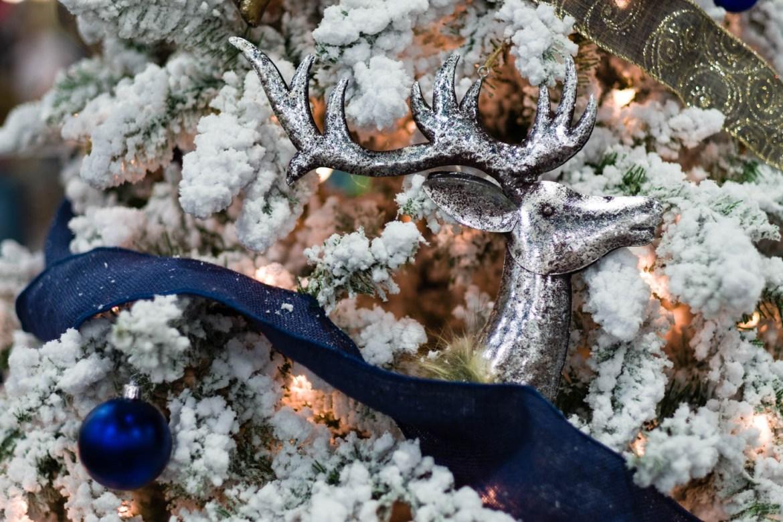 Deer and Hunting themed Christmas Tree