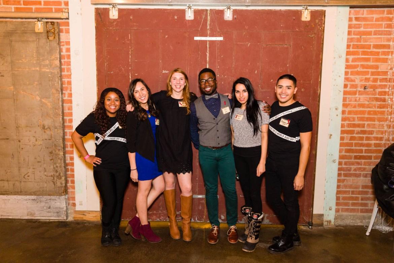 Volunteers of the Utah AIDS Foundation