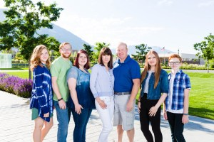 Family photography in Provo