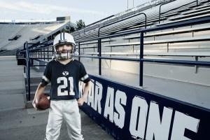 Henry added to Cougar Stadium using Photoshop