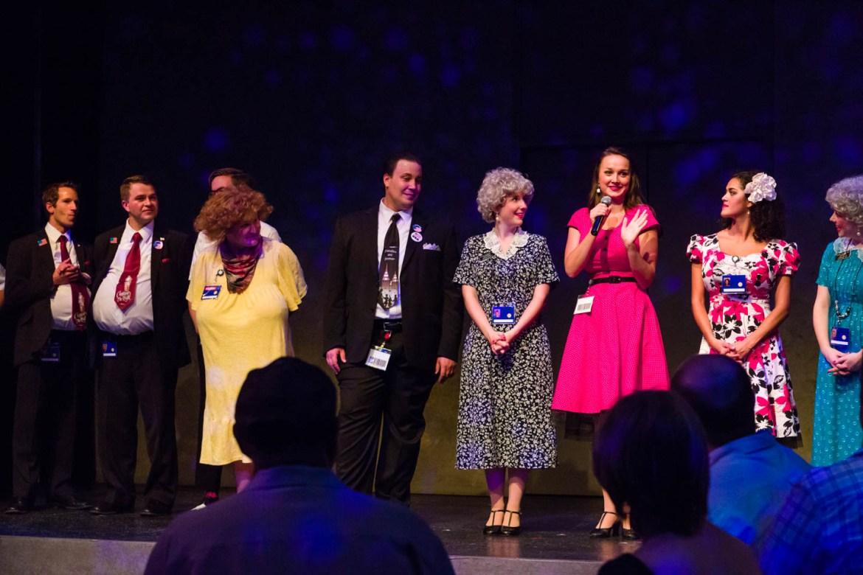 The cast of Saturday's Voyeur 2013