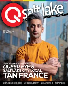 The cover of QSalt Lake Magazine