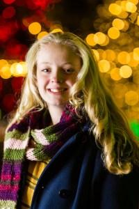 Julianne's Christmas Portrait