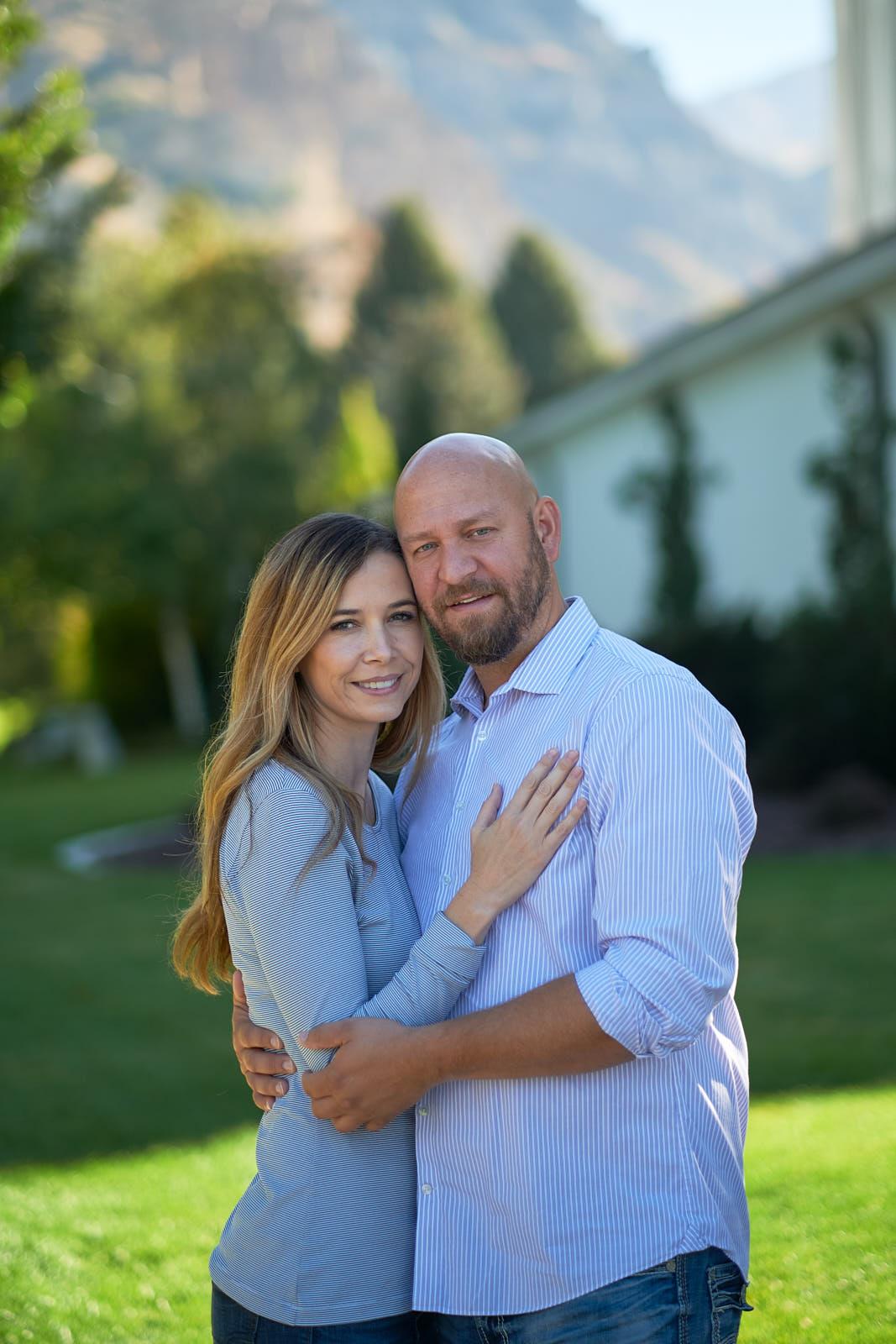 Adam & Amy portraits