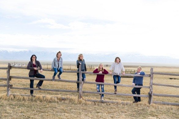 Family photos on Antelope Island