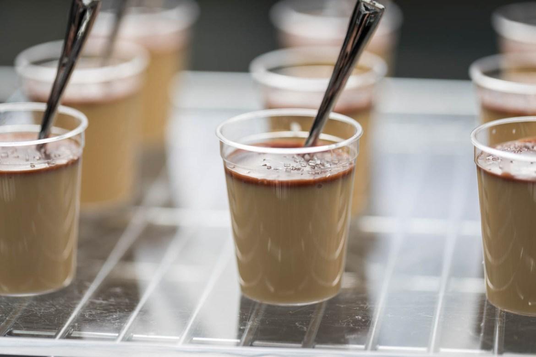 Panna cotta dessert cups