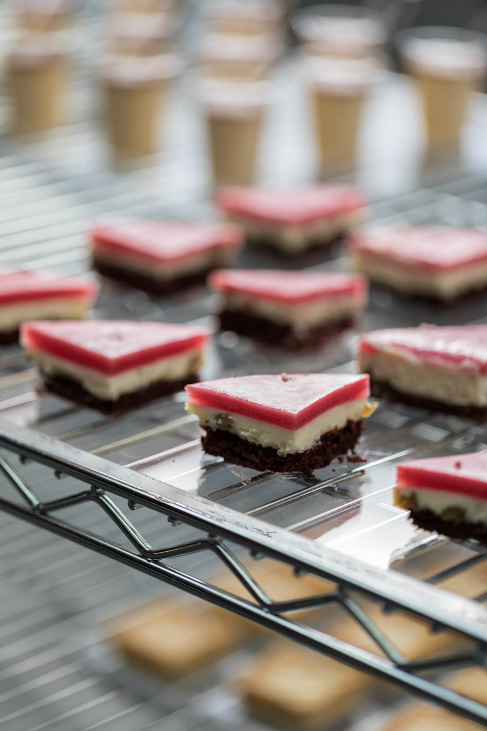 Delicious desserts with cranberry, chocolate, and other flavors