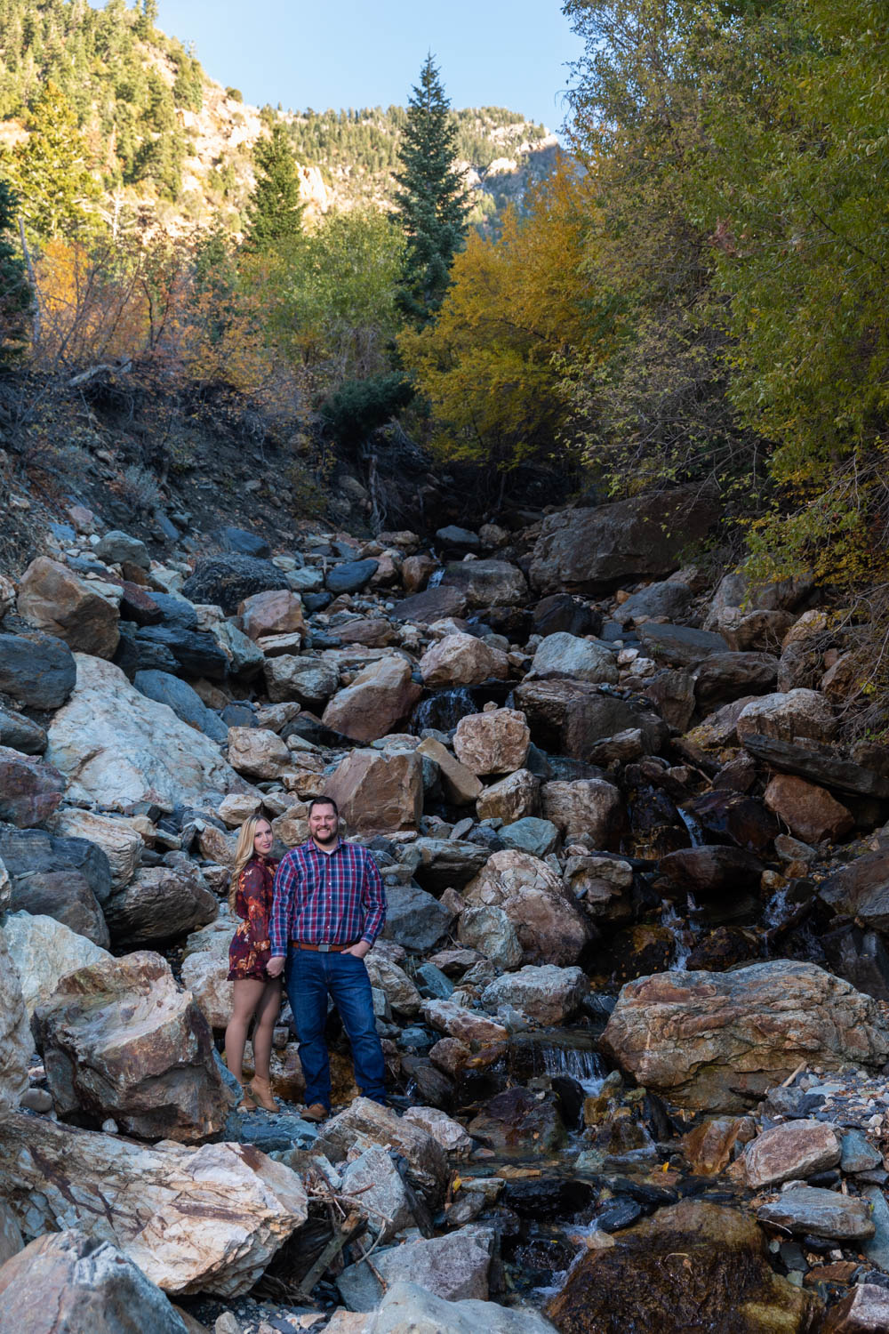 Big Cottonwood Canyon is perfect for portraits