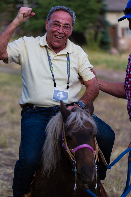 He won a horse?!